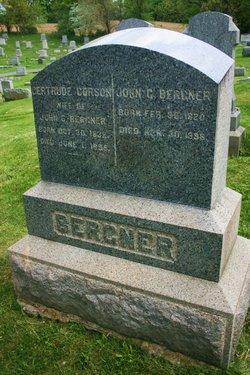 Gertrude <i>Corson</i> Bergner