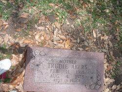 Trudie Cleo <i>Kyser</i> Akers
