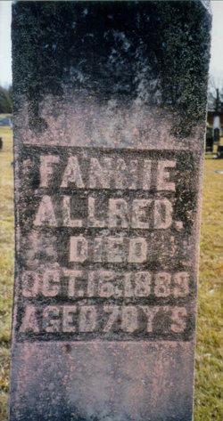 Frances Fannie <i>Johnson</i> Allred