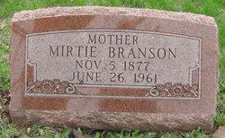 Mirtie <i>Defield</i> Branson