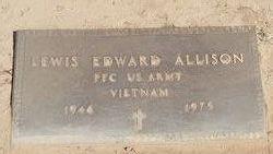 PFC Lewis Edmond Allison