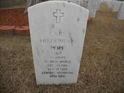 Carl Hildebran Pope