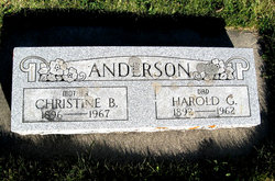 Christine B. <i>Bicknell</i> Anderson