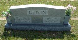 Ollie D Lewis