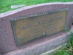 Paul Beryl Sutton