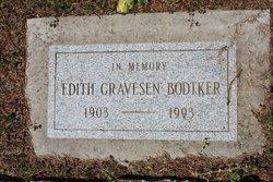 Edith <i>Gravesen</i> Bodtker
