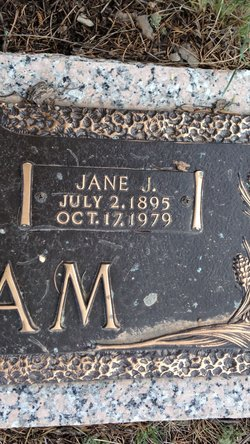 Jane <i>Jenkins</i> Ingram