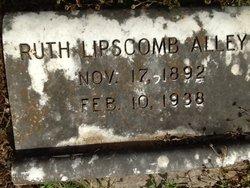 Ruth <i>Lipscomb</i> Alley