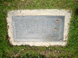 Joseph Edwin Welsh
