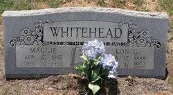 Maggie Elizabeth <i>Easdon</i> Whitehead