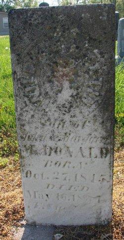 William M. McDonald