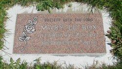 Mary Lu <i>Porter</i> Box