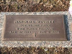 Harold Lee Winsett, Sr