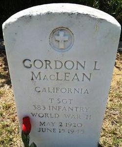 Gordon L MacLean