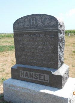 Elizabeth J. <i>Cropper</i> Hansel