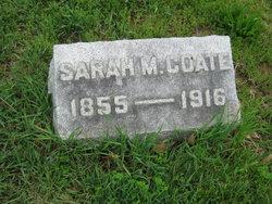 Sarah Martha <i>Southard</i> Coate