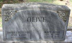 Mary Adella <i>Stough</i> Olive