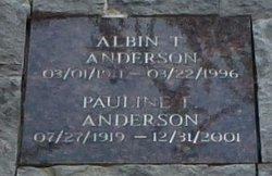 Albin T Anderson