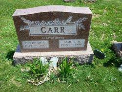 Gertrude L. Gertie <i>Snyder</i> Carr