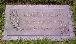 (Annie) May <i>Calloway</i> Williams