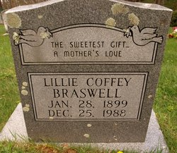 Lillie <i>Coffey</i> Braswell