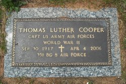 Capt Thomas Luther Cooper, Sr