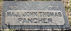 Maj John T. Jack Fancher