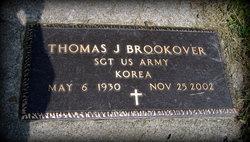 Thomas J Brookover