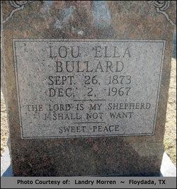 Lou Ella <i>Littlefield</i> Bullard