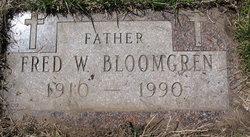 Fred William Bloomgren