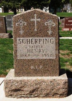 Henry Scherping