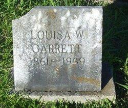 Louisa W Garrett