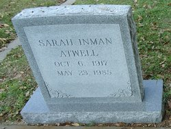 Sarah <i>Inman</i> Atwell
