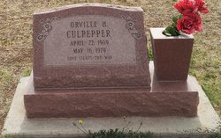 Orville Henderson Culpepper