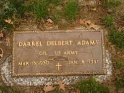 Darrel D Adams