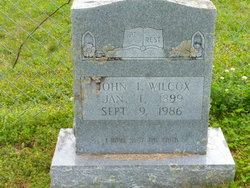 John I Wilcox