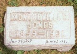 Monterville R Jones