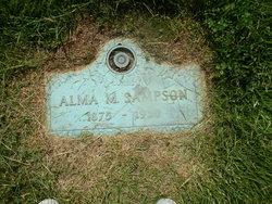 Alma <i>Moore</i> Sampson