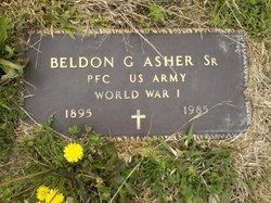 Rev Beldon Goodan Asher, Sr