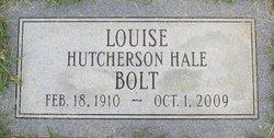 Louise Hutcherson <i>Hale</i> Bolt