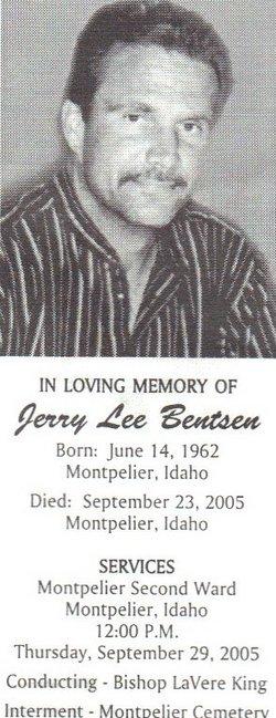 Jerry Lee Bentsen
