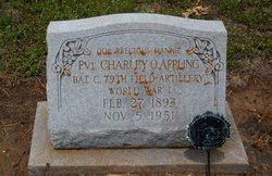 Pvt Charles Oscar Charley/Mannie Appling