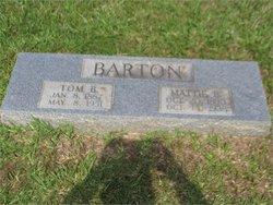 Thomas Benjamin Tom Barton