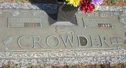 Mary Marie <i>Brown</i> Crowder