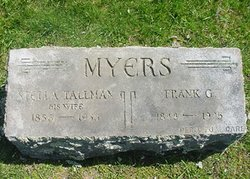 Stella A <i>Tallman</i> Myers