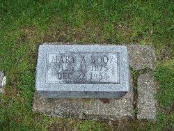 Mary Ann <i>Griffith</i> Booz