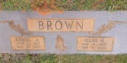 Bessie Mae <i>White</i> Brown