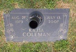 Kajsa Omega <i>Coleman</i> Barnette