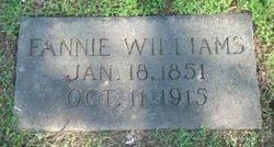 Fannie W. Alexander