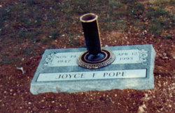 Joyce Frances <i>Bowlin</i> Pope
